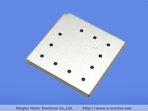 Nickel silver metal shielding cover