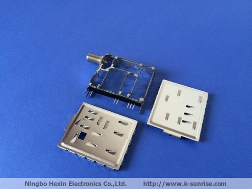 1.2g metal shielding cover for pcb mount