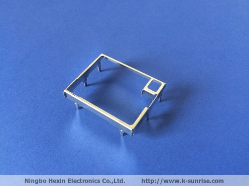 Metal shielding cover for pcb board