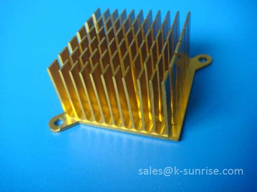 Aluminium heat sink for PCB board