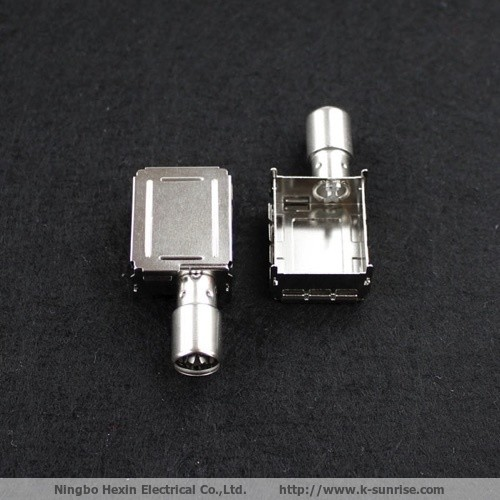 20.8IEC connector with shielding can