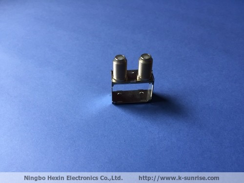 EOC rf connector with shielding