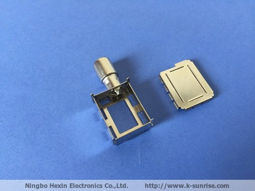 Tin Plating shield cover+connector of set top box