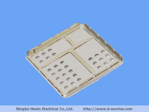 TTwo piece shield can ,shielding frame and cover ,shielding frame and cover for pcb board ,shielding cans