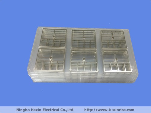Tray packing rf emi shielding cover