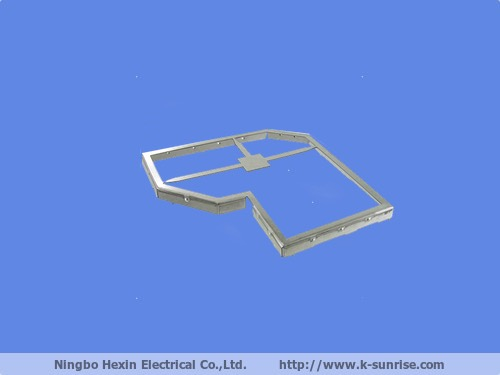 metal RF shield cover for PCB mount