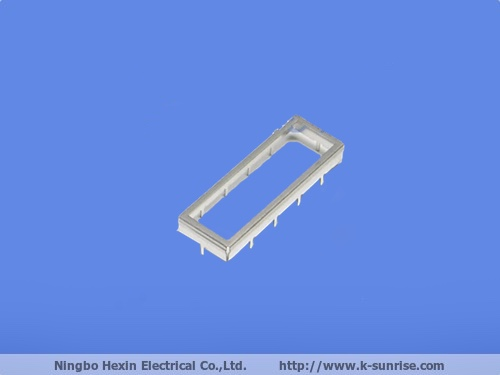 Metal shielding with hole for pcb board