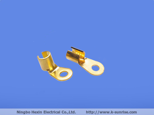 Custom Fabrication Sheet Metal, Copper Stamping Electrical Connector