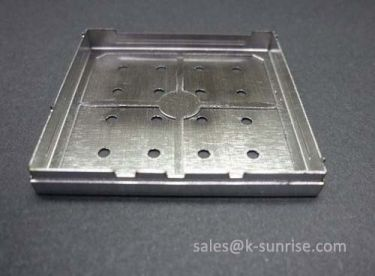 Precision metal shielding case on PCB
