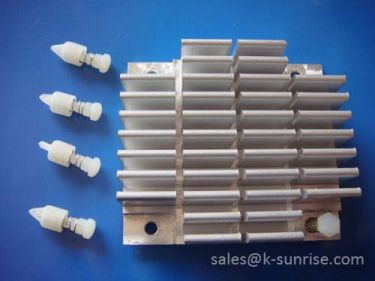 Extruded aluminum heat sink