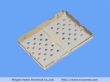 Two piece Copper Nickel zinc alloy board level shielding can