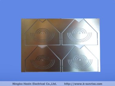 etch metal shielding cover